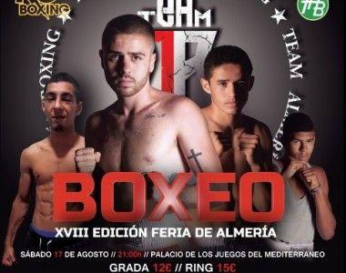 Velada de Boxeo amateur en la XVIII edición de la Feria de Almería