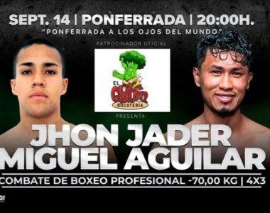 Jhon Jader Obregon se suma al Cartel del Jon  Fernández Vs Arévalo en Ponferrada