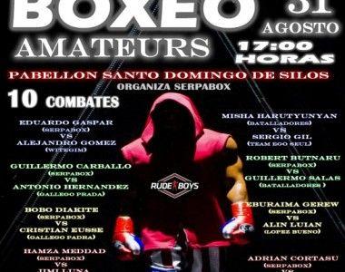 Esta noche Velada amateur en el Pabellón Santo Domingo de Silos de Zaragoza