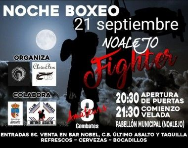 Este sábado velada amateur en Noalejo (Jaén)