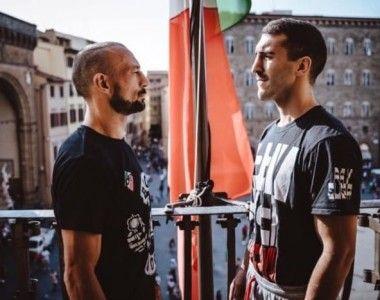 Iván Tomás frente a Devis Boschiero hoy en Florencia, Titulo IBF Internacional en juego