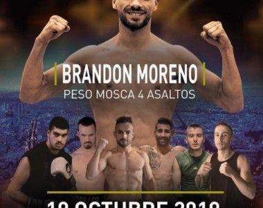 Brandon Moreno en busca de su tercer triunfo en el Rayo Vallecano