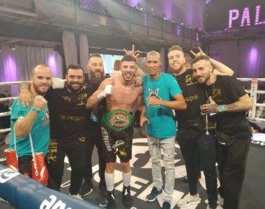 Abdessamad Nechchad se proclama Campeón  Mediterráneo del Consejo WBC en Alemania