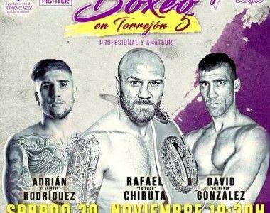 "Rafael Chiruta el 30 de Noviembre en ""Boxeo en Torrejón V"""