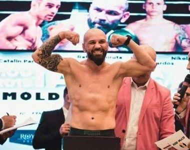 Rafael Chiruta boxea hoy por primera vez como profesional en Rumanía