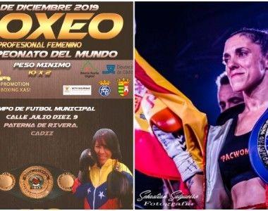 Confirmado: Katy Díaz Vs Eva Guzmán por el Título Mundial IBO en Paterna (Cádiz)