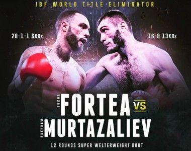 Jorge Fortea frente a Murtazaliev en eliminatoria mundial IBF en Las Vegas