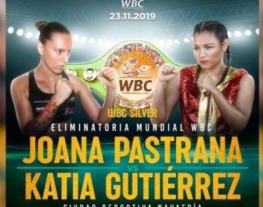 Joana Pastrana regresa  ante Katia Gutiérrez en eliminatoria Mundial  WBC