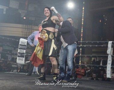 Miriam Gutierrez se corona en Madrid, campeona mundial interina (WBA)