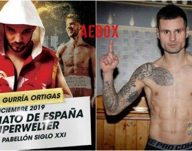 Campeonato de España superwélter: Gurría y «Jony» Viña en forma en el primer pesaje