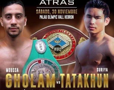 Gholam vs Tatakhum por el cinturón WBO Intercontinental, el vencedor entrará en el Top15 Mundial