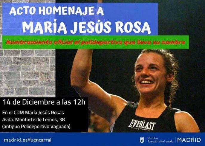 Acto Placa Maria Jesus Rosa