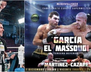 Sergio García defiende el titulo de Europa ante  El Massoudi en Torrelavega