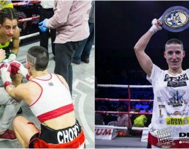 Melania Sorroche: «Con Violeta hicimos un gran combate para la historia del boxeo español»