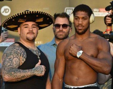 Andy Ruiz Jr. Vs  Joshua II… El mexicano sube siete kilos en la revancha